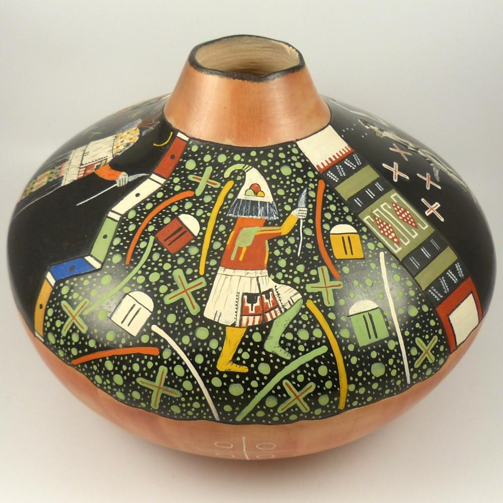 """12-21-12"" Hopi Jar - Pottery - Lawrence Namoki - 1"