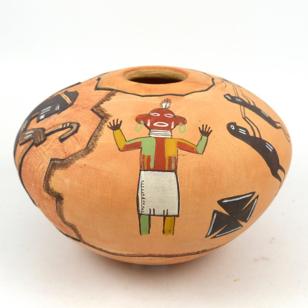 Hopi Pot - Pottery - Lawrence Namoki - 1