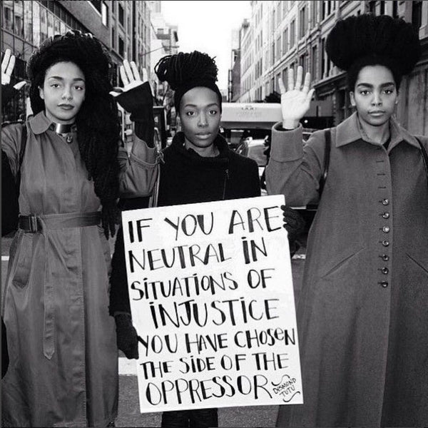 if you are neutral in situations of injustice, then you have chosen the side of the oppressor - desmond tutu