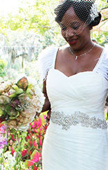 Accessorizing your wedding gown