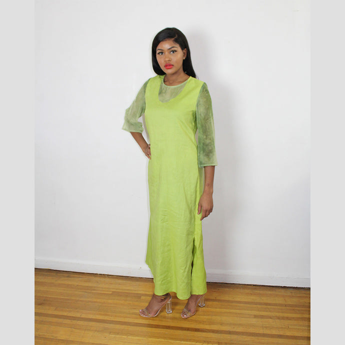 ALIA - A LINE LONG MAXI DRESS