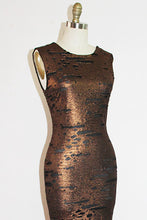 Load image into Gallery viewer, FELICIA - RUST 1930'S INSPIRED GOWN
