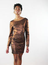 Load image into Gallery viewer, SANTANA RUST MINI DRESS