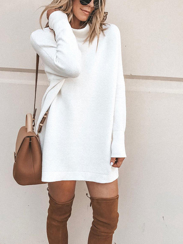Chellysun Casual  Solid Color Dress