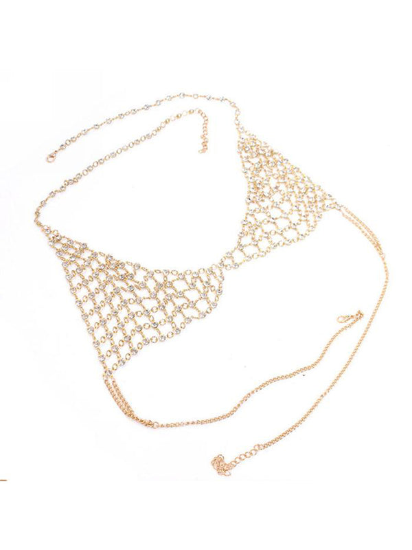 Chellysun Honeycomb Body Chain Bra