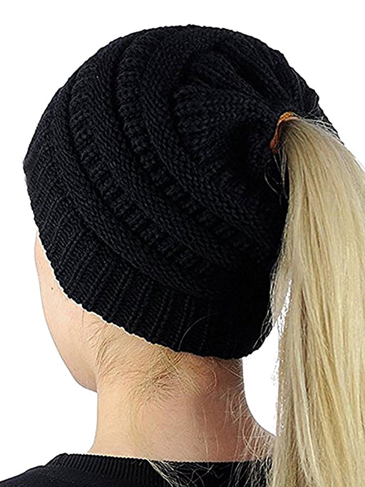 Chellysun Women's Winter Knit Beanie Hat Cap