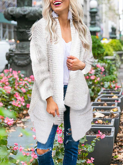 Chellysun Open Front Chunky Cardigan