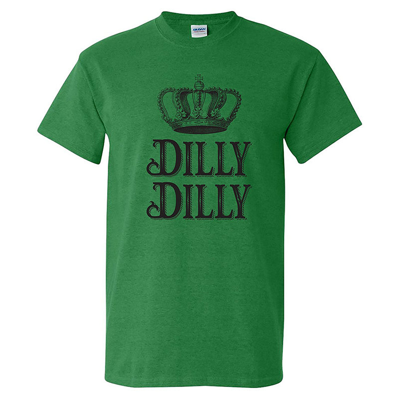 Chellysun Dilly Dilly The Crown Funny Print T-shirt - Chellysun