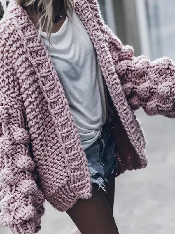 Chellysun Fashion Oversize Loose Cardigan