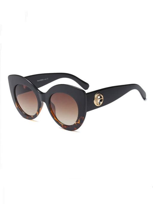 Chellysun Personalized Cat Eye PC Lens Sunglasses