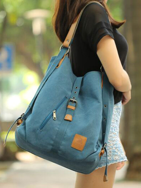 Chellysun Canvas Multi-Function Shoulder Bag