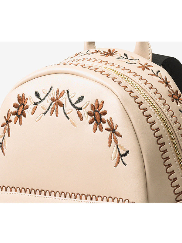 Chellysun Embroidered Ladies Backpack