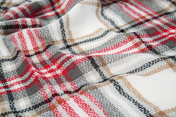 Chellysun Multicolor Plaid Scarf Shawl