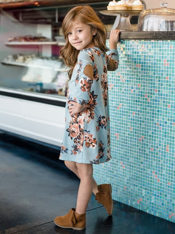 Chellysun Print Kids Dress