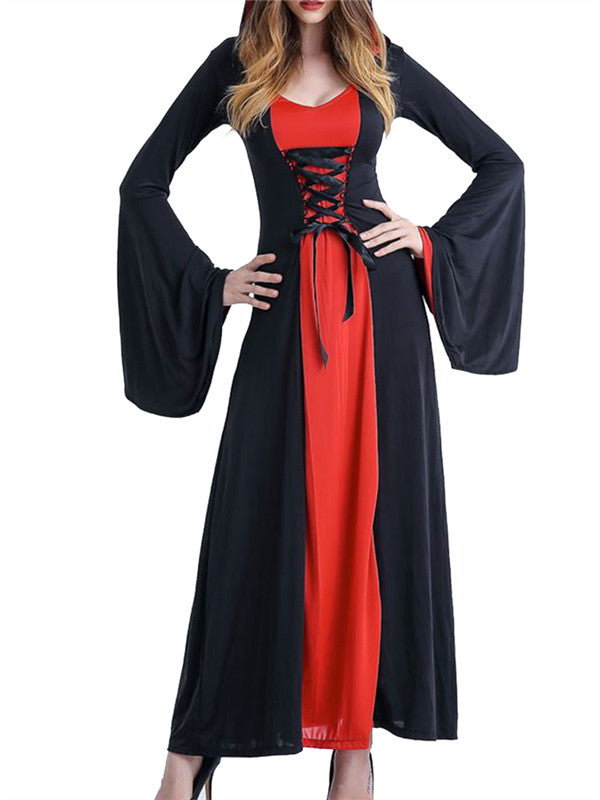 Chellysun Halloween Hoodie Vampire Dress