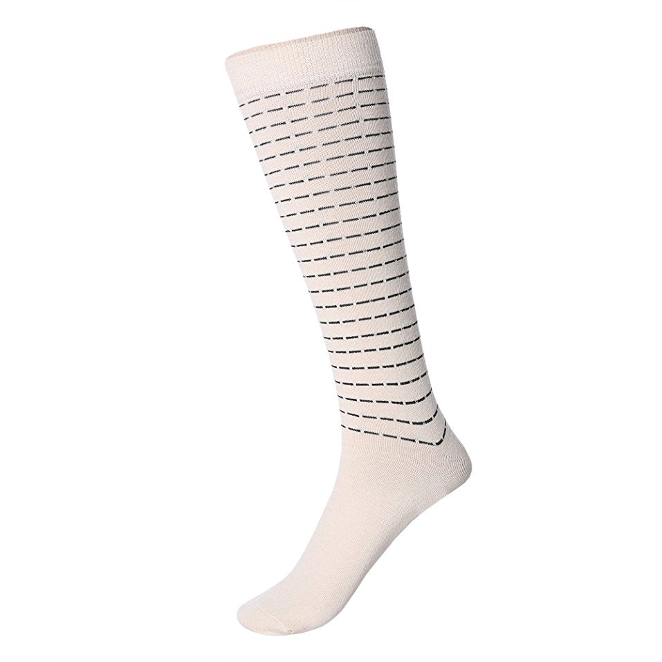 Chellysun Winter Cute Striped Warm Long Socks - Chellysun