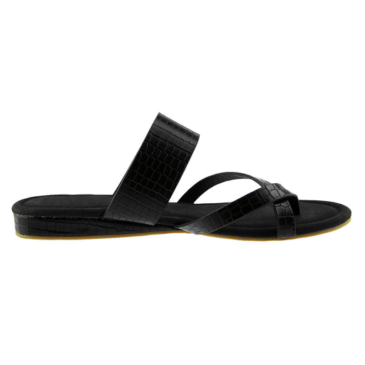 Chellysun Flip Flops Leather Sandals