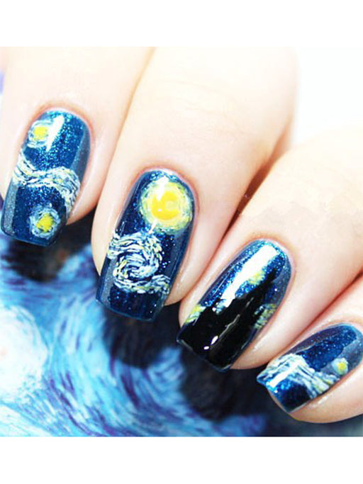 Chellysun Starry Night Nail Stickers