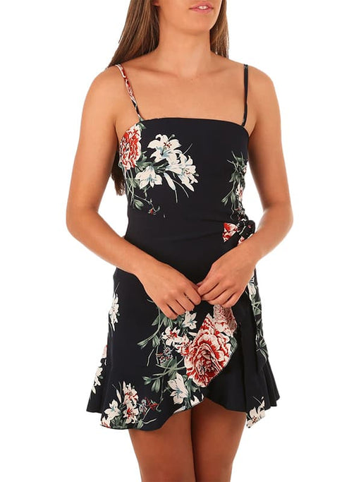 Chellysun Casual Floral Short Dress
