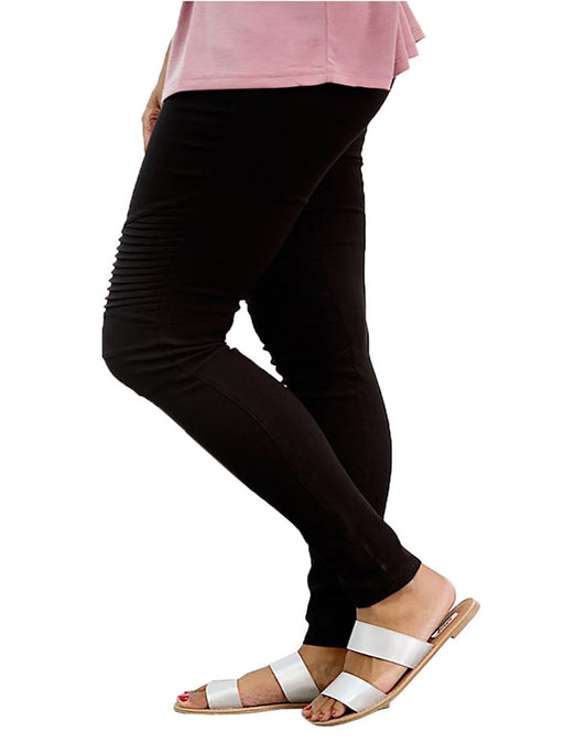 Chellyusn Tight Pencil Pants Pleated Pants