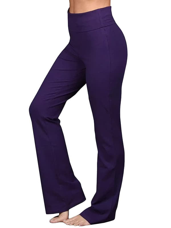 Chellysun Women's Casual Performance Cotton Yoga Pants