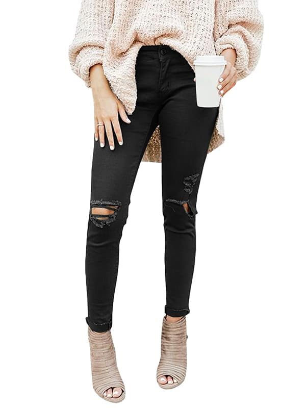 Chellysun The Davis Distressed Skinny