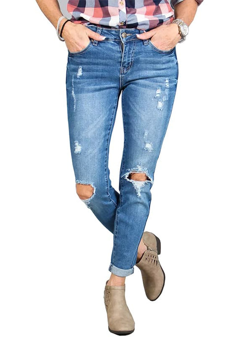 Chellysun Juniors High Waist Jeans