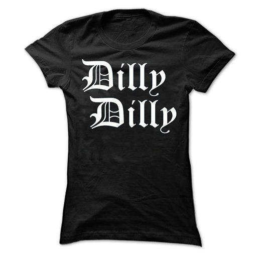 Chellysun 2018 Womens New Dilly Printed T-shirt - Chellysun