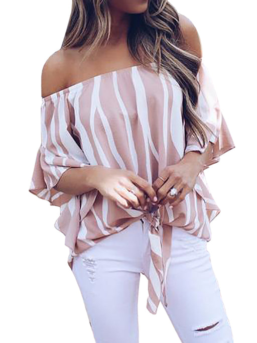 Chellysun Off The Shoulder Blouse