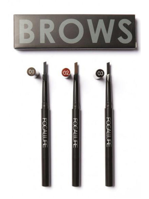 Chellysun Waterproof Eyebrow Pencil & Brush