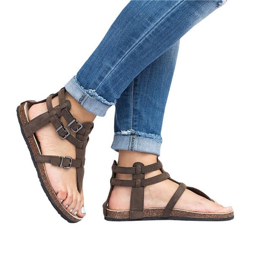 Chellysun Gladiator Strappy Sandals