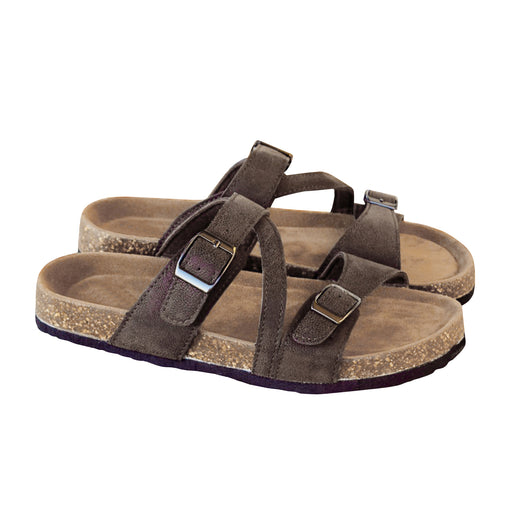 Chellysun Leather Footbed Arizona Sandals