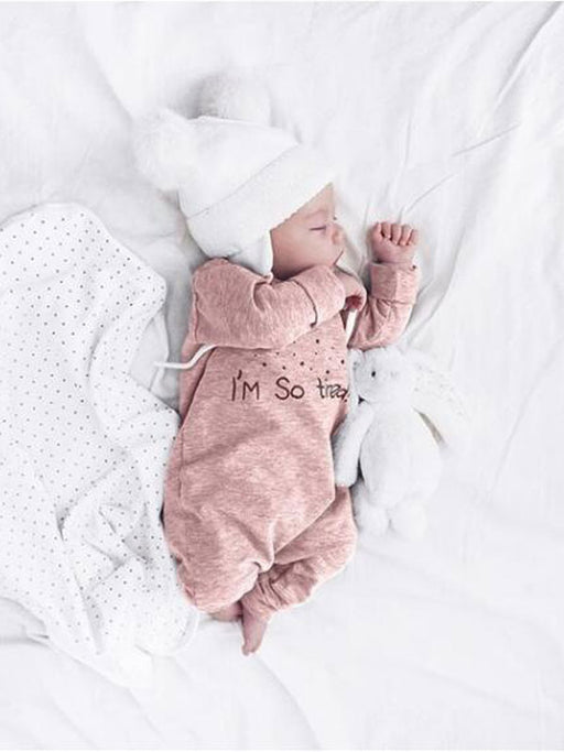 Chellysun Long-Sleeve Cute Newborn Jumpsuit