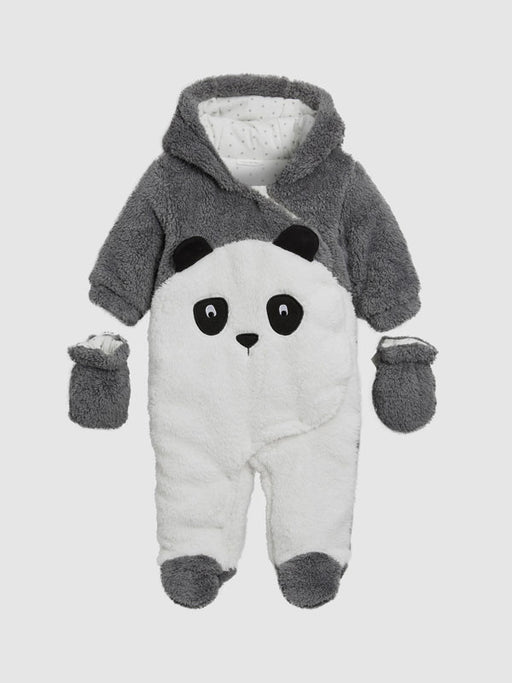 Chellysun Dark Grey Panda Jumpsuit