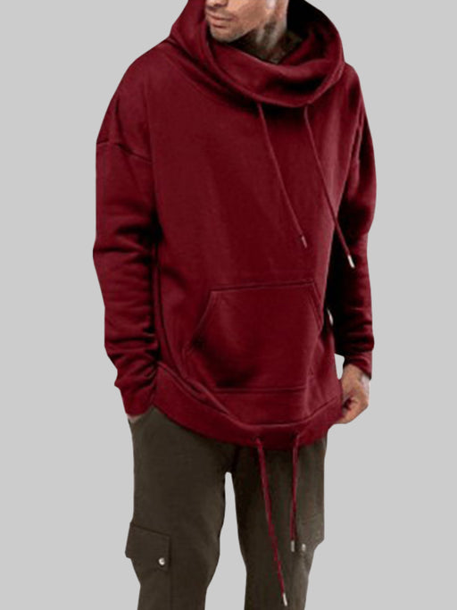 Chellysun Mens Solid Color Fashion Hoodie