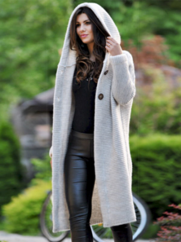Chellysun Casual Winter Hooded Coat