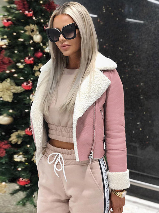 Chellysun Women Faux fur Winter Jacket Coat