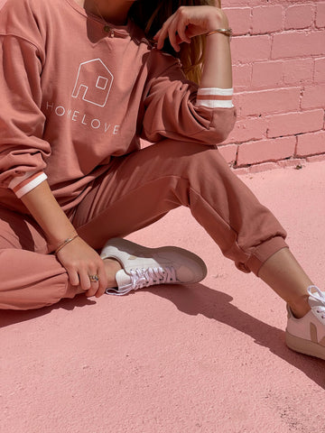 HOME LOVE TRACK PANT - SPICE