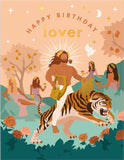 Birthday Lover Apollo Greeting Card