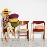 Rylie Round Cushion, Honey PRE-ORDER