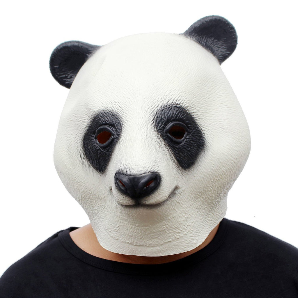 Giant Panda Latex Full Adult Mask