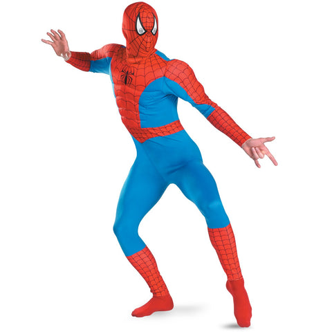 Spider-Man Marvel Muscle Chest Costume