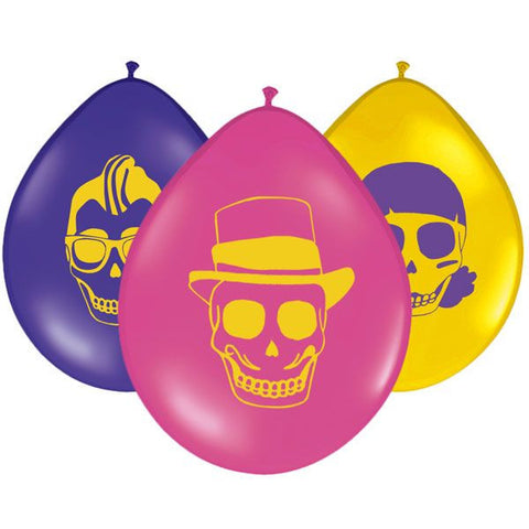 Day of the Dead Balloons - 9'' Latex
