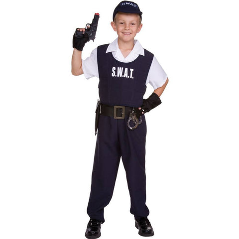 S.W.A.T. Officer Kids Costume