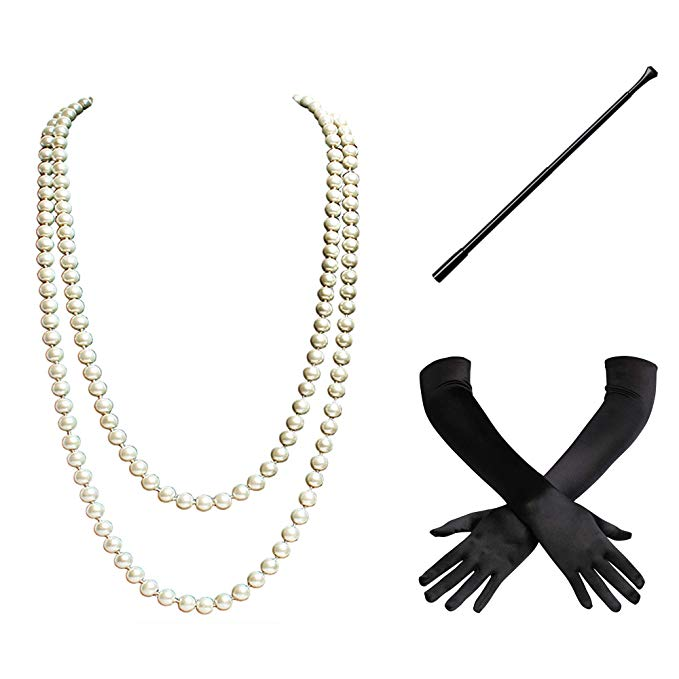 1920's Flapper Gatsby Accessories Set