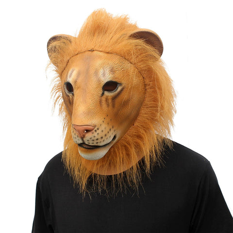 Lion Head Full Adult Mask
