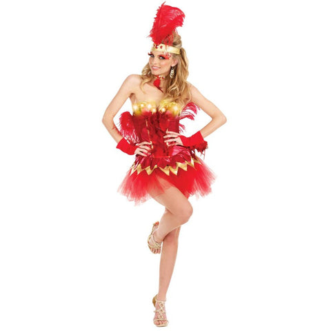 Fabulous Firebird Light Up Adult Costume