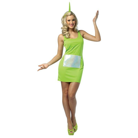 Teletubbies - Dipsy Tank Dress Adult Costume