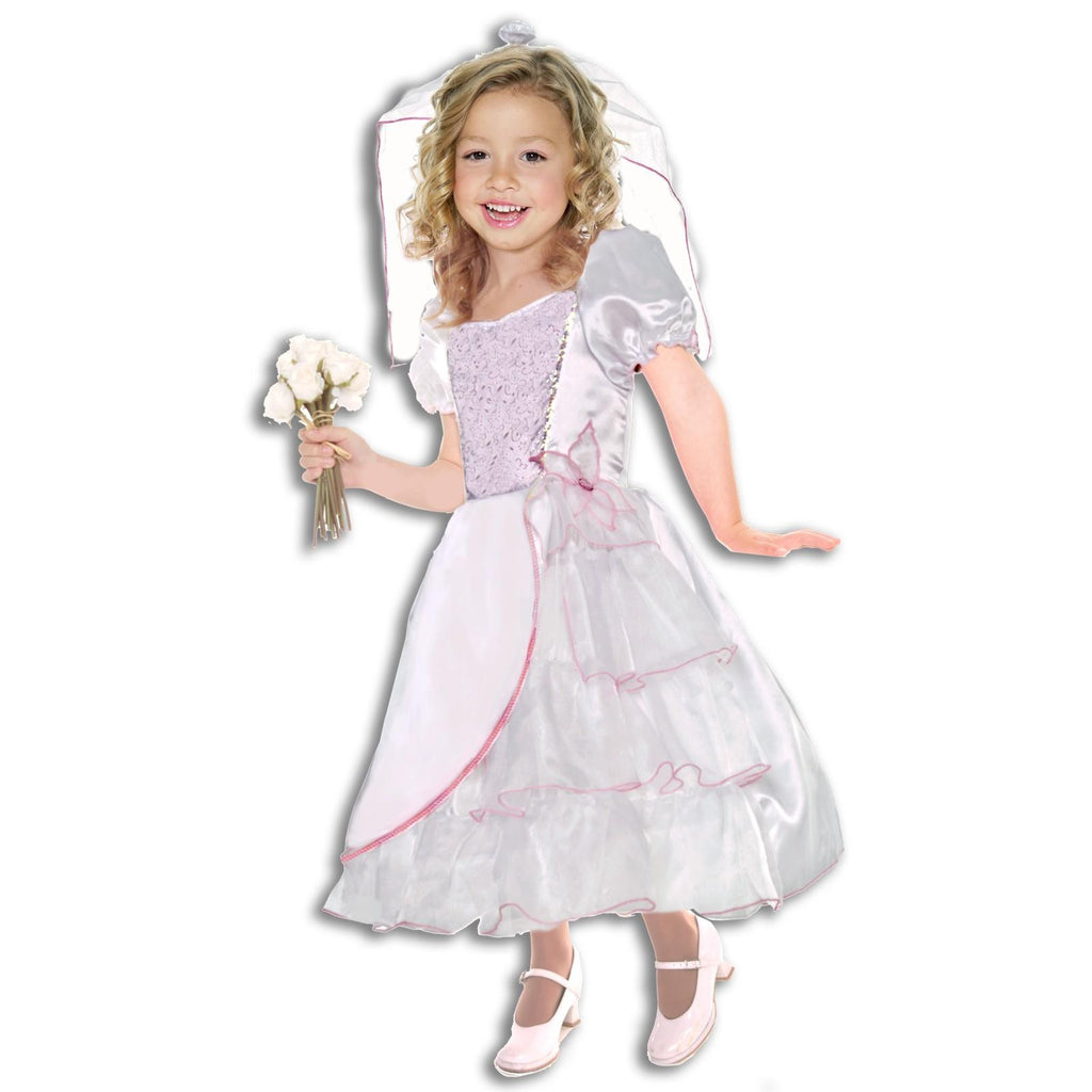 Bride Child Costume