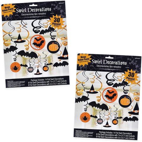 Scare Witches & Bats Halloween Hanging Decoration